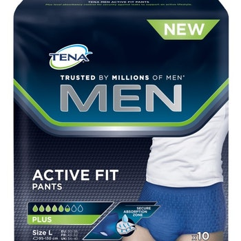 Visa alla produkter från Tena TENA Men Active Fit L 10 st