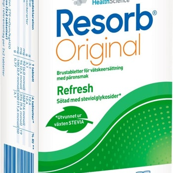 Resorb Original Päron brustablett 20 st