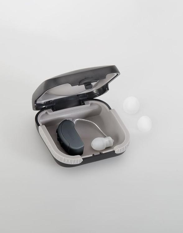 Hörapparat Grå Lanaform