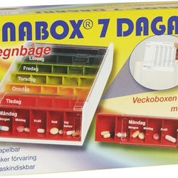 Anabox 7 Dagars doseringshjälp
