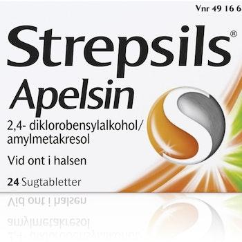 Strepsils Apelsin, sugtablett 24 st