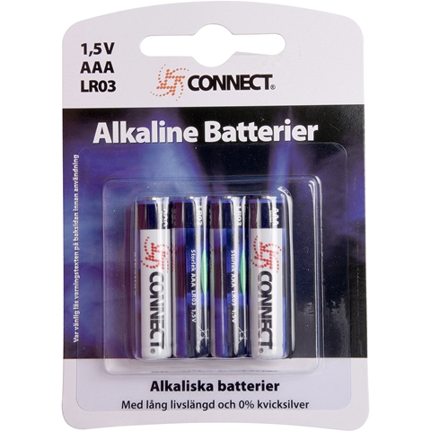 Batteri AAA Connect