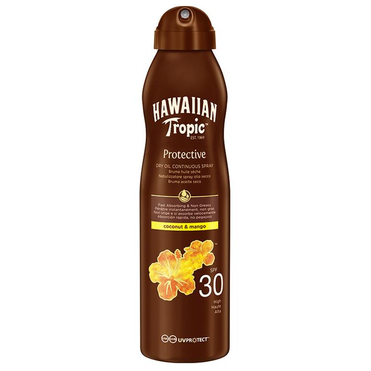 Hawaiian Tropic Dry Oil Coconut & Mango C-spray SPF30 180 ml