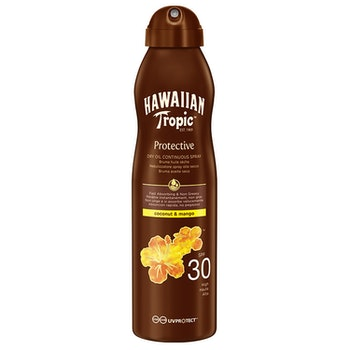 Hawaiian Tropic Dry Oil Coconut & Mango C-spray SPF30 180 ml