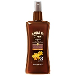 Hawaiian Tropic Dry Spray Oil SPF 8 200 ml