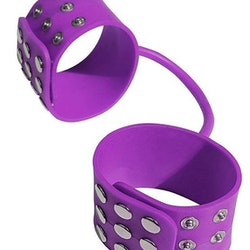MAF Silicone Cuffs Purple