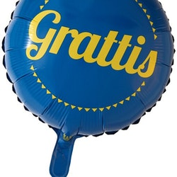 Folieballong Grattis 46CM
