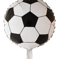 Folieballong fotboll rund 46 cm