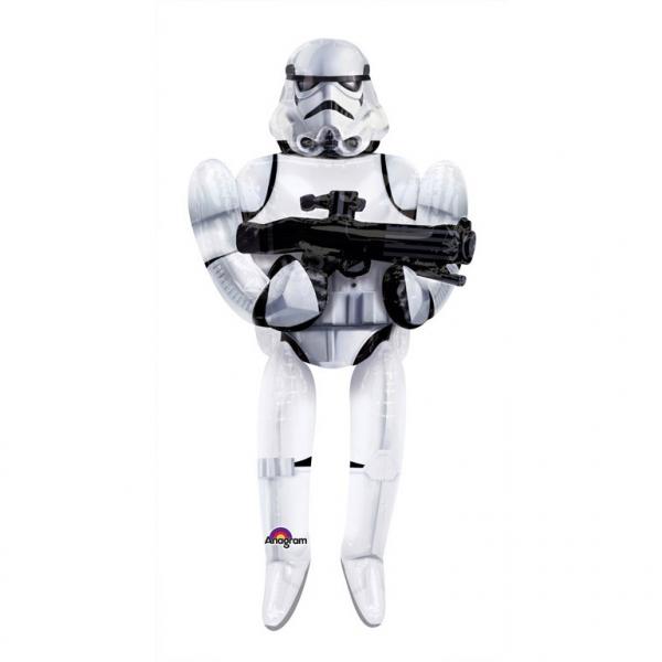 Star Wars Storm Trooper AirWalker Folieballong 177cm