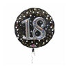 Folieballong Sparkling Birthday 18 year