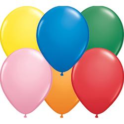 12 cm blandade standard ballonger 100 pack