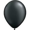 12 cm pärlemo svart ballong 100 pack