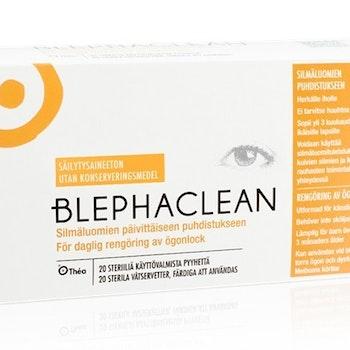 Blephaclean våtservetter 20 st