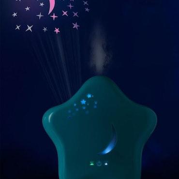 Moony - Luftfuktare för barn med nattljusfunktion - Lanaform