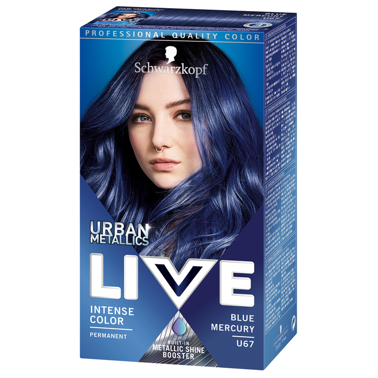 Schwarzkopf Live U67 Blue Mercury