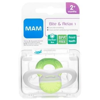 MAM Bite & Relax 1, blandade färger