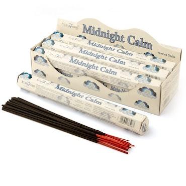 Premium Hex Rökelsestickor - Midnight Calm 20 pack