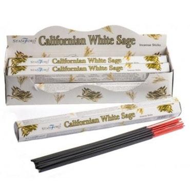 Premium Hex Rökelsestickor - Californian White Sage 20 pack