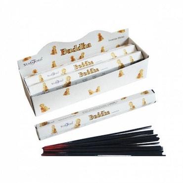 Premium Hex Rökelse Stickor - Buddha 20 pack