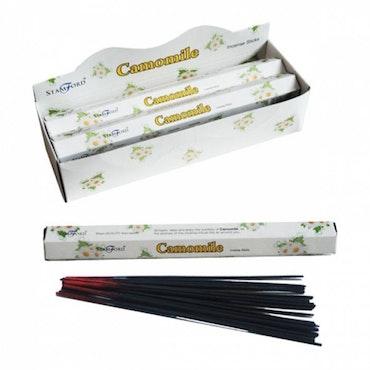 Premium Hex Rökelse Stickor - Camomile 20 pack