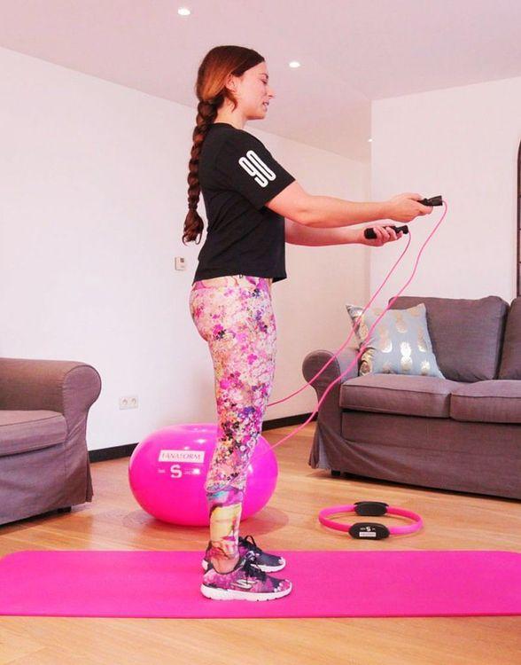 Fitnesskit för Hemmaträning Lanaform