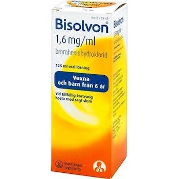 Bisolvon, oral lösning 1,6 mg/ml 125ml