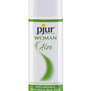 Pjur Woman Aloe Vattenbaserat Glidmedel med Aloe Vera, 30 ml