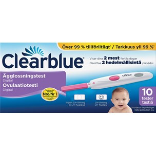 Clearblue Digital Ägglossningstest 10 st