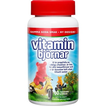 Active Care Vitaminbjörnar 60 st