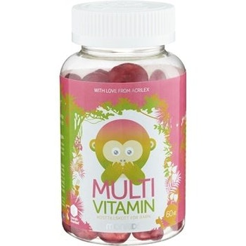 Monkids Multivitamin 60 tuggtabletter