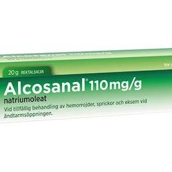 Alcosanal, rektalsalva 110 mg/g 20 gr