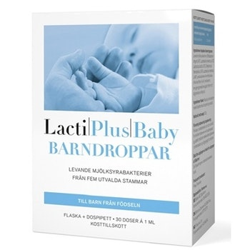 Lactiplus Baby Barndroppar 30 ml