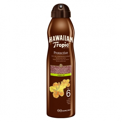 Hawaiian Tropic Dry Oil Argan C-Spray 6 SPF