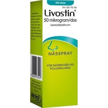 Livostin nässpray, suspension 50 mikrogram/dos, 150 dos(er)