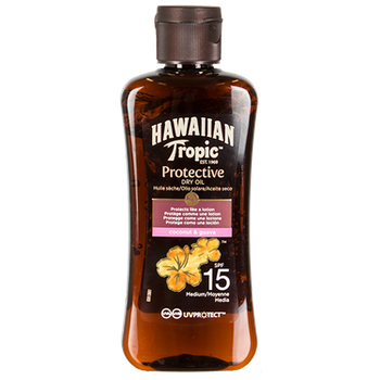 Hawaiian Tropic Protective Oil SPF 15 100ml