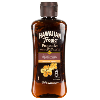 Hawaiian Tropic Protective Oil SPF 8 100 ml