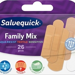 Salvequick SalvequickMED Family Mix 26 st
