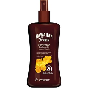Hawaiian Tropic Protective Dry Spray Oil SPF20 200 ml