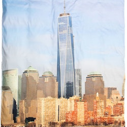 Freedom Tower Satin påslakan 150 x 210 + örngott 50 X 60