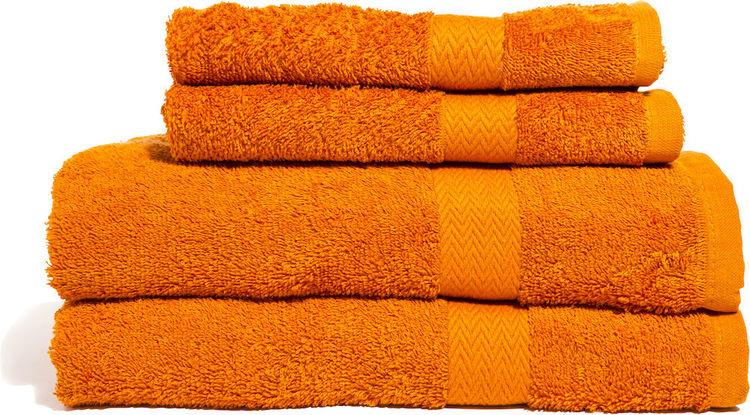 Frotte slitstark 65 x 135 cm 2-pack Orange