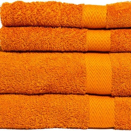 Frotte slitstark 65 x 135 cm 2-pack Orange