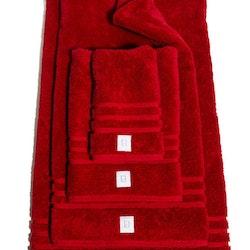 Badlakan Kosta Linnewäferi 65 x 130 cm 2-pack Röd