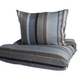 Stripe bäddset 150 x 210 + örngott 50 x 60 cm