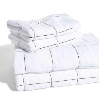 Frottéset med 2 badlakan & 2 handdukar Smögen