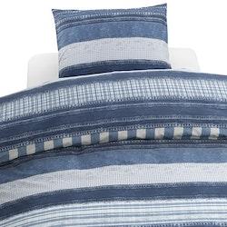 Jeans 2 dels påslakanset - påslakan 150 x 210 + 1 örngott 50 x 60