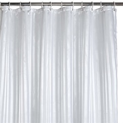 Duschdraperi vit 180 x 200 cm