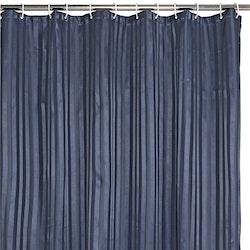 Duschdraperi blått 180 x 200 cm