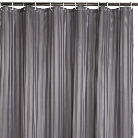 Duschdraperi grått 180 x 200 cm