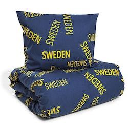 Sweden påslakan 150 x 210 + örngott 50 x 60