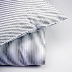 Påslakan Rand grå vit Stilig 150 x 230_2 pack